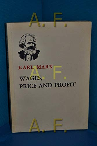 9780835104227: Wages, Price and Profit