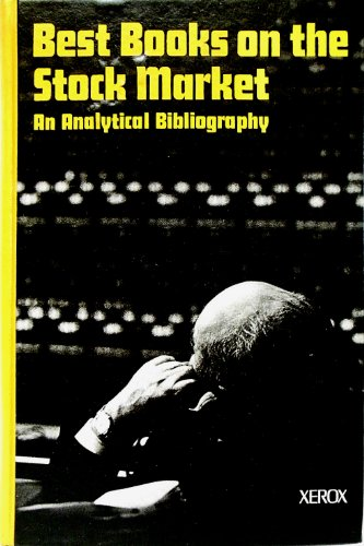 9780835205474: Best Books on the Stock Market: An Analytical Bibliography