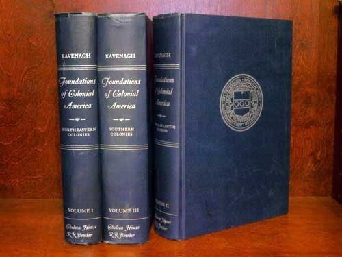 9780835206242: Foundations of colonial America: A documentary history (3 Vol. Set)