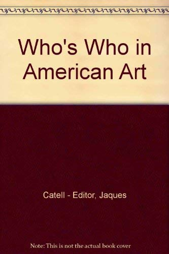 9780835210362: Who's Who in American Art 1978: 1978