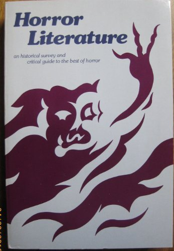 Horror Literature: A Core Collection and Reference Guide: Marshall B. Tymn