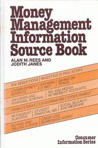 9780835217385: Money Management Information Source Book (Consumer information series)