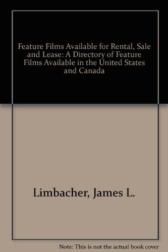9780835219297: Feature Films: A Directory of Feature Films on 16Mm and Videotape Available for Rental, Sale, and Lease