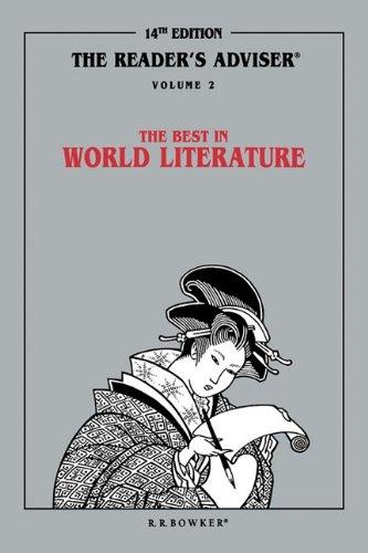 9780835233224: The Reader's Adviser: The Best in World Literature Volume 2