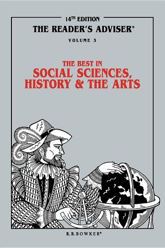 Reader's Adviser: Vol.3 The Best in Social Sciences, History and the Arts: Sader, Marion