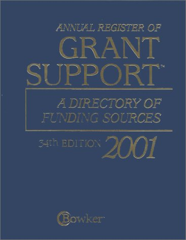 9780835243254: Annual Register of Grant Support: A Directory of Funding Sources