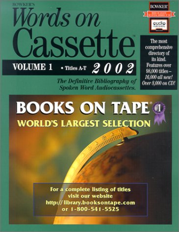 Words on Cassette 2002 (Books Out Loud)(2 volumes)