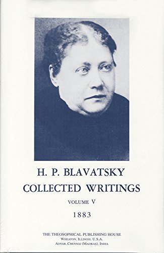 9780835601177: Collected Writings of H. P. Blavatsky, Vol. 5 (1883)