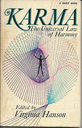 9780835604628: Karma: The Universal Law of Harmony (Quest Books)