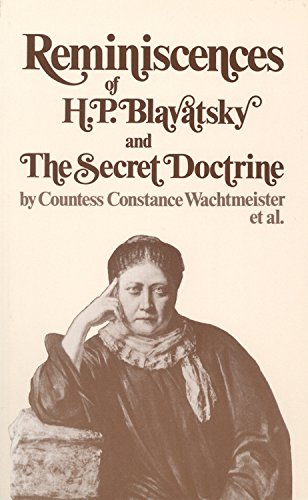 9780835604888: Reminiscences of H.P. Blavatsky, and the Secret Doctrine (Quest Books)
