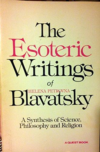 9780835605359: Esoteric Writings of H.P. Blavatsky (Quest Books)