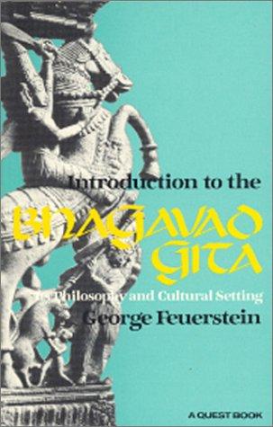 9780835605755: Bhagavad Gita: An Introduction