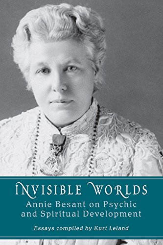 9780835609104: Invisible Worlds: Annie Besant on Psychic and Spiritual Development