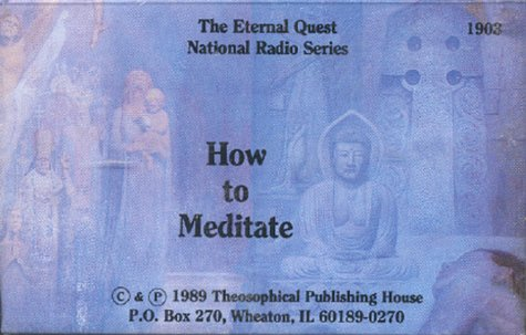 9780835619035: How to Meditate