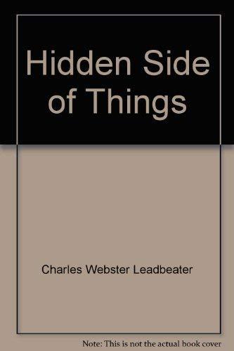 9780835670074: Hidden Side of Things