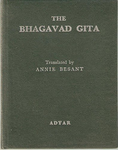 Bhagavad Gita: Besant, Annie W.