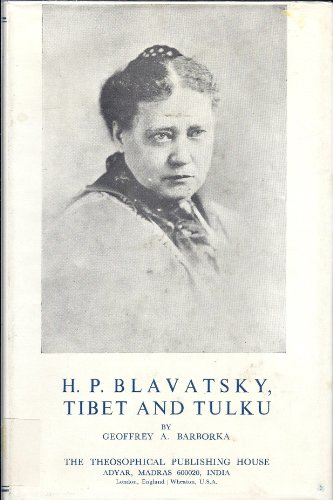 9780835671590: H P Blavatsky: Tibet and Tulku