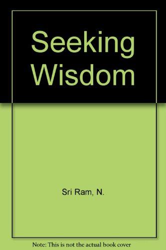 9780835671941: Seeking Wisdom