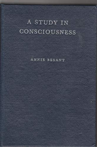 9780835672870: Study in Consciousness