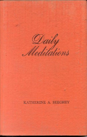 9780835675741: Daily Meditations