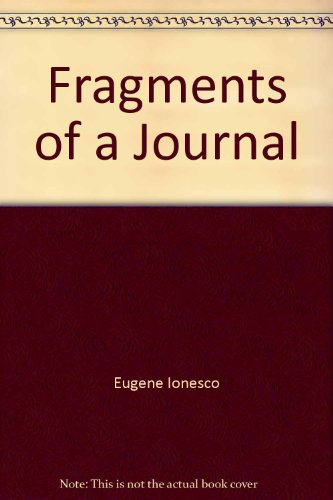 9780835703949: Fragments of a journal