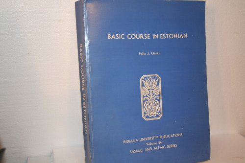 9780835704687: Basic course in Estonian