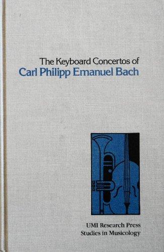 9780835712071: Keyboard Concertos of Carl Philipp Emanuel Bach (Studies in musicology)
