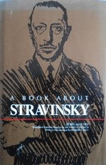 9780835713207: A Book about Stravinsky (Russian music studies)