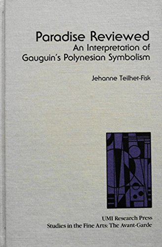 9780835713344: Paradise Reviewed: An Interpretation of Gauguin's Polynesian Symbolism (Studies in the Fine Arts)