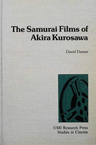 9780835714952: Samurai Films of Akira Kurosawa (Studies in cinema)