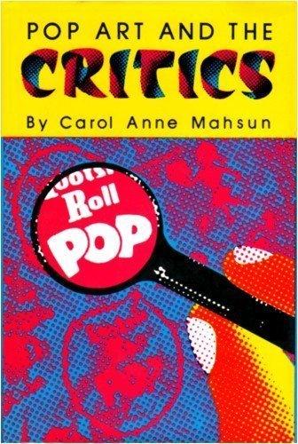 Pop Art and the Critics (Studies in: Mahsun, Carol Anne