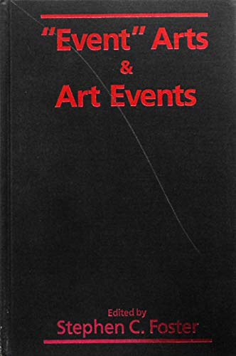 """9780835718141: """"Event"""" Arts and Art Events (Studies in the Fine Arts)"""
