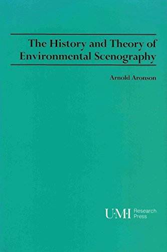 9780835719056: The History and Theory of Environmental Scenography (Theater and Dramatic Studies)