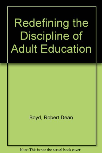 9780835749336: Redefining the Discipline of Adult Education