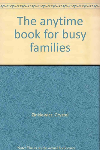 9780835803786: The anytime book for busy families