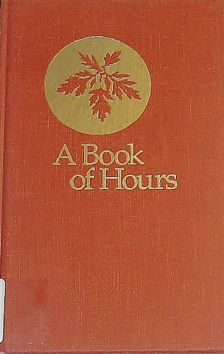 9780835805940: A Book of Hours