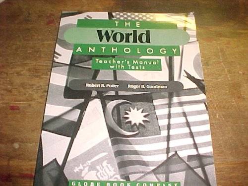 9780835900782: The World Anthology Teacher's Manual with Tests