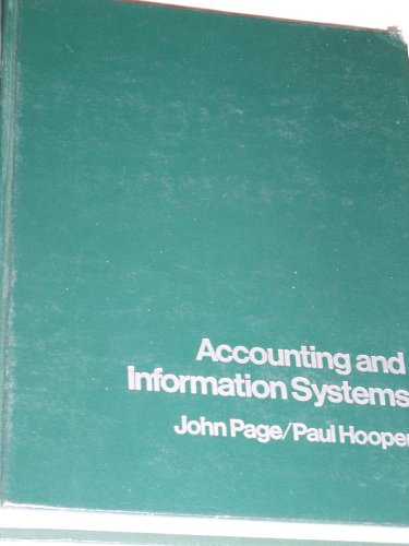 9780835900829: Accounting and information systems