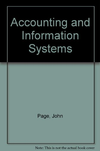 9780835900959: Accounting and Information Systems