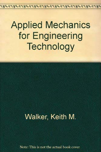 9780835901550: Applied Mechanics for Engineering Technology