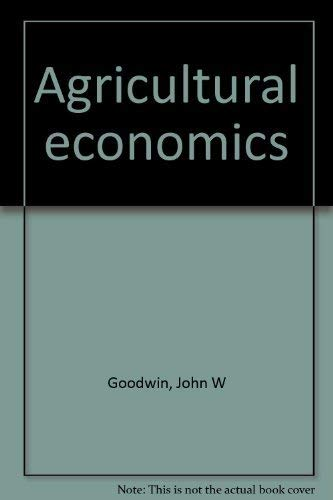 9780835901826: Title: Agricultural economics