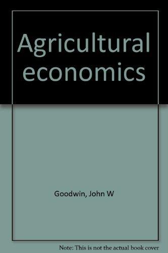 9780835901826: Agricultural economics
