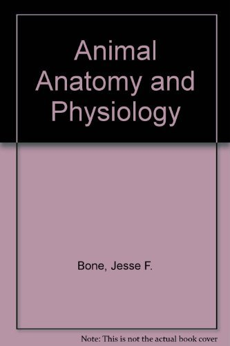 9780835902168 Animal Anatomy And Physiology Abebooks Jesse F