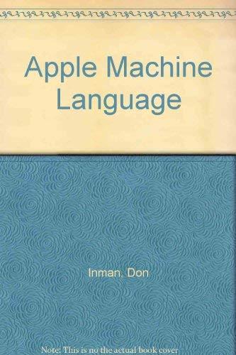 9780835902304: Apple Machine Language
