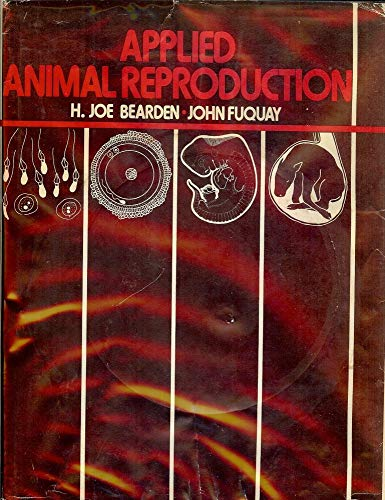9780835902496: Applied animal reproduction