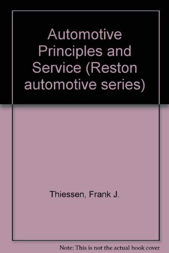 9780835902878: Automotive principles and service