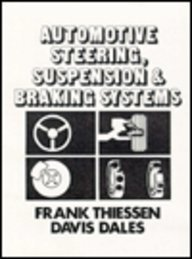 9780835902908: Automotive Steering, Suspension and Braking Systems