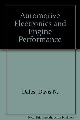 9780835903110: Automotive Electronics and Engine Performance