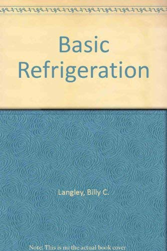 Basic Refrigeration (0835904172) by Langley, Bill