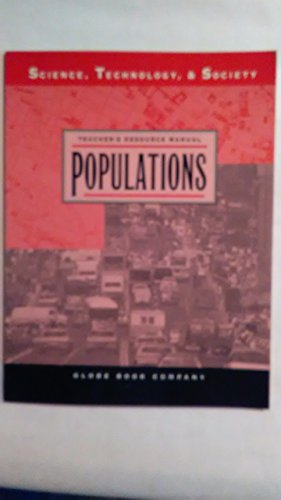 9780835904575: Populations/Teacher's Manual (Science, Technology, & Society)